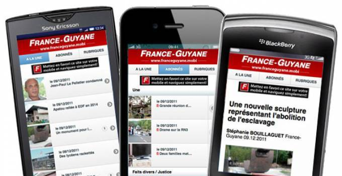 Version mobile de France-Guyane
