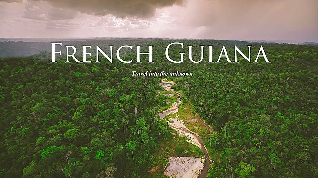 Vu sur le web : Welcome to French Guiana