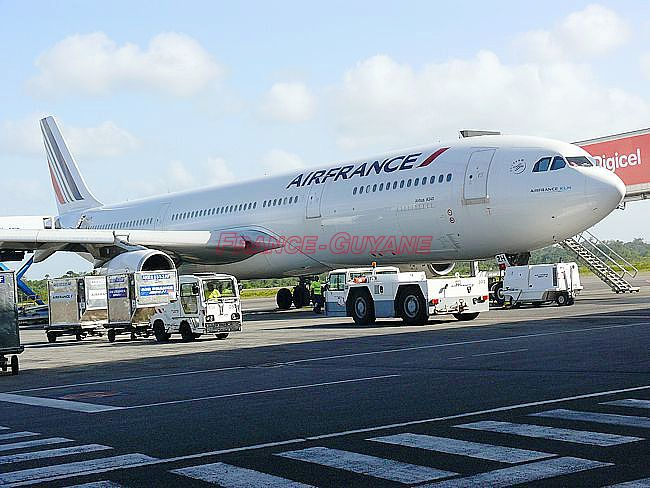 Vol Air France annulé