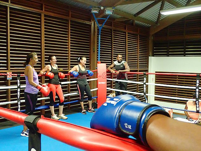 Le Macouria Boxing Club monte sur le ring