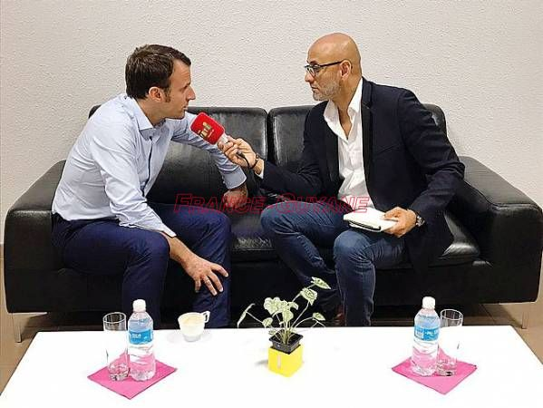 Interview d'Emmanuel Macron