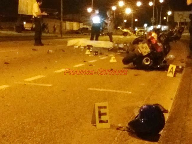Accident mortel en centre-ville