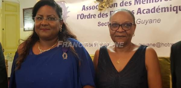 8. Véronique Baboul et sa marraine Lyliane Markour. (Bernard DORDONNE)