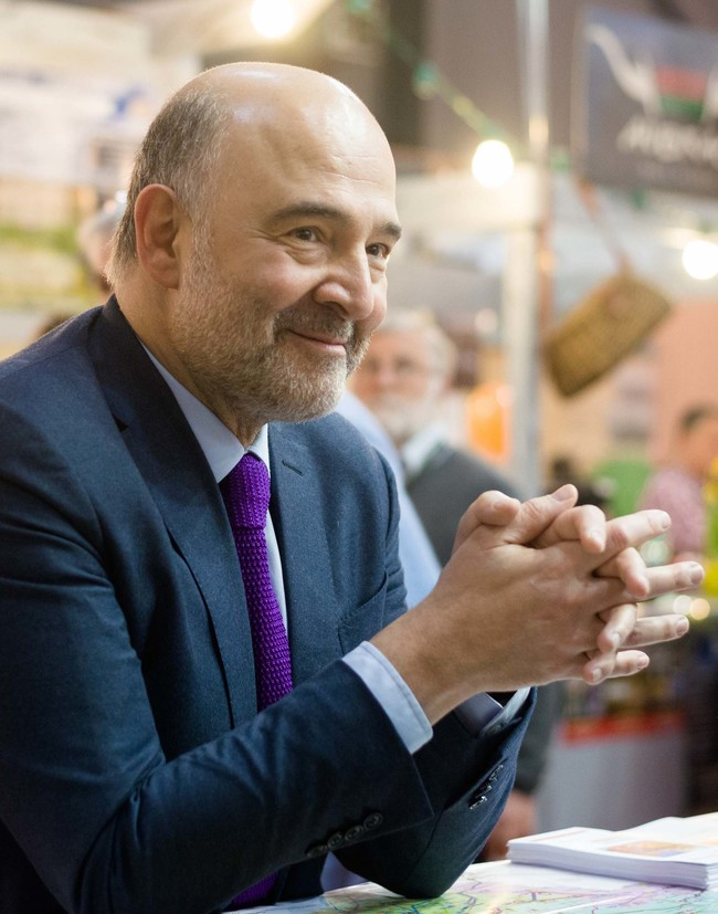 Visit of Commissioner Pierre Moscovici to the Agricultural Fair2017 in Paris