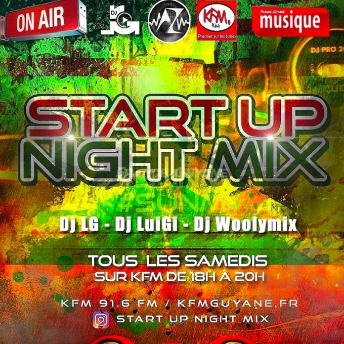 Start Up Night Mix (02.03.19)
