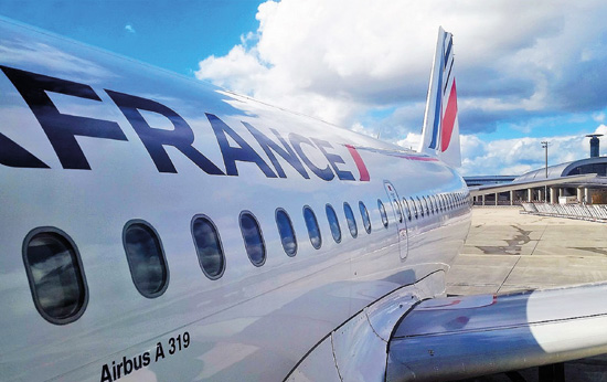 Un SDF voyage dans le train d'atterrissage d'un avion d'Air France