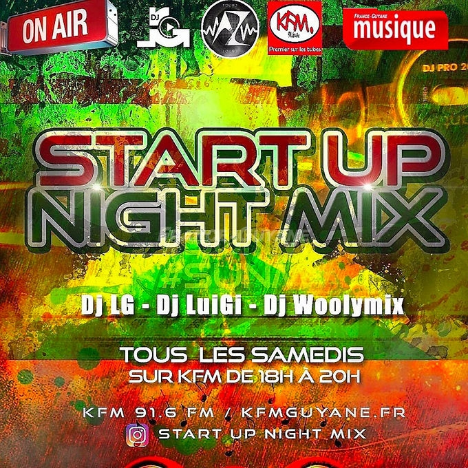Start Up Night Mix (11.05.19)