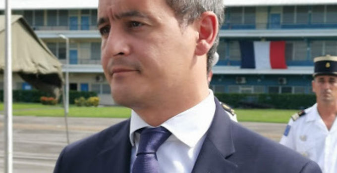 Gérald Darmanin sur site contre l'orpaillage illégal