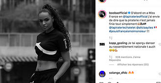 L'ex-Miss France Alicia Aylies travaille avec Booba