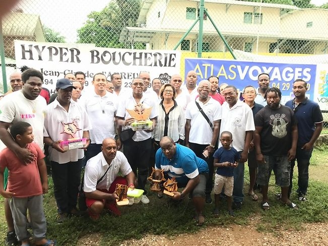 Les membres de l'association Guyane Ornithologique
